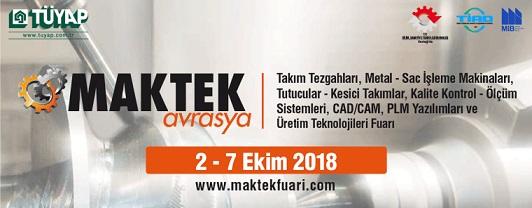 2018土耳其工具機及金屬加工展MAKTEK